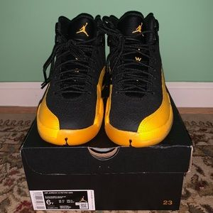 University Gold Jordan Retro 12s sz 6y